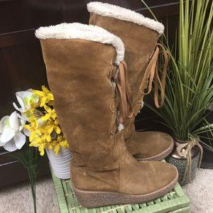 Michael Kors Winter Knee High Boots Approx 6